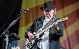 Neil Young: le foto del concerto a New Orleans