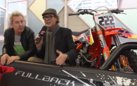 Motorshow 2016: il video con Ringo e Giovanni di Pillo