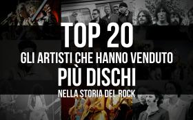 TOP 20: Gli artisti che hanno venduto più dischi nella storia del rock. Scoprili tutti!