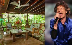 Rolling Stones: guarda le foto la villa di Mick Jagger ai Caraibi in affitto a 11.000 euro alla settimana