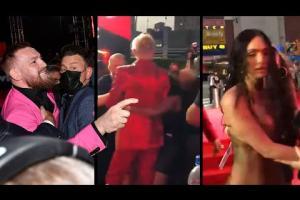 Machine Gun Kelly: il video della 'quasi' rissa con il fighter UFC Conor McGregor
