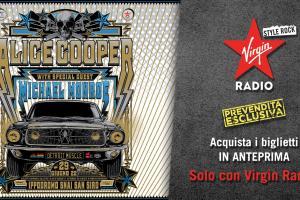 Alice Cooper: UFFICIALE in concerto in Italia il 29 giugno 2022 all'Ippodromo di San Siro - Milano. Prevendita ESCLUSIVA con Virgin Radio