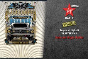 Alice Cooper: live all'Ippodromo di San Siro di Milano - Prevendita