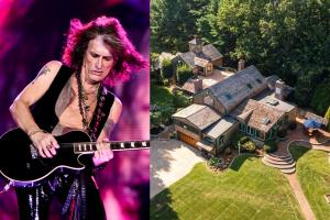 Aerosmith, Joe Perry mette in vendita la sua tenuta (con piscina a forma di chitarra) per 4 milioni e mezzo di dollari. Guarda le foto