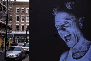 Keith Flint, il bellissimo murale a Londra realizzato in occasione della World Suicide Prevention Day. Guarda la foto