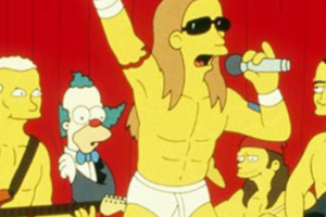 I Red Hot Chili Peppers ne I Simpson, Chad Smith:
