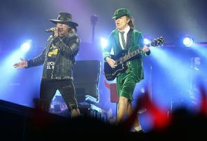 AC/DC: Axl Rose di nuovo in piedi! Guarda le foto del concerto a Vienna