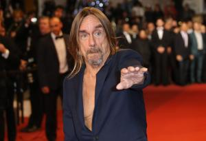 Iggy Pop infiamma il red carpet di Cannes