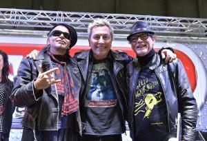 Motor Bike Expo: le foto della Mosquito's Way con Ringo, Giovanni di Pillo, Piero Pelù, Jimmy Ghione e Rocco Siffredi