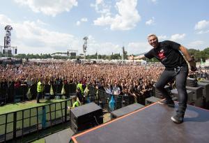Firenze Rocks: le foto del dj set di Virgin Radio prima del concerto di Ozzy Osbourne (con una sorpresa!)