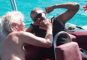 Branson vs Obama