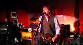 Paul McCartney live at the 100 Club (London)