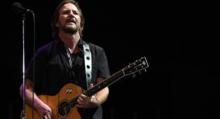 Eddie Vedder: le foto del concerto per Nelson Mandela a Johannesburg in Sud Africa