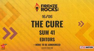 Firenze Rocks 2019: UFFICIALE Editors in concerto nella data del 16 giugno. Tutte le info