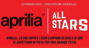 VIRGIN RADIO TI PORTA ALL'EVENTO APRILIA ALL STARS: partecipa all'estrazione di due Pass Paddock VIP Aprilia per la MotoGP al Mugello e Misano... più altri fantastici premi Aprilia!
