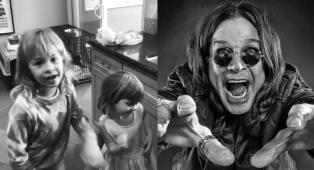 Ozzy Osbourne: le nipotine di 3 e 6 anni si scatenano cantando e ballando Crazy Train. Guarda il video!
