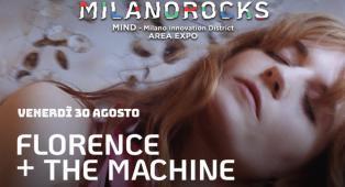 MILANO ROCKS FESTIVAL: partecipa all'estrazione finale dei biglietti per il concerto del 30 agosto con Florence + The Machine