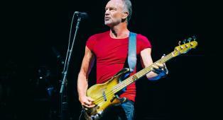 Sting: guarda le foto del concerto al Lucca Summer Festival