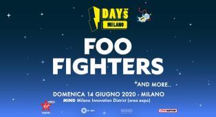 Foo FIghters: UFFICIALE ad IDays 2020 il 14 giugno a Milano. Tutte le info