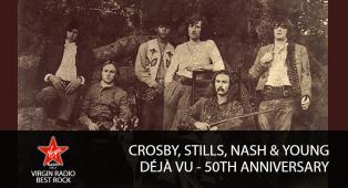 Crosby Stills, Nash & Young - Déjà Vu - 50th Anniversary - Riascolta lo speciale con Paola Maugeri