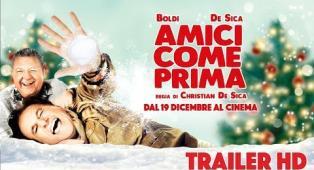 """""""Amici Come Prima"""" Christian De Sica e Massimo Boldi di nuovo insieme nel divertente film di Natale"""