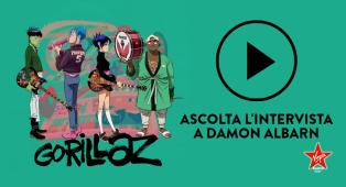 Gorillaz: ascolta l'intervista esclusiva a Damon Albarn