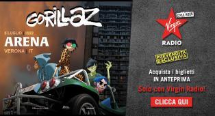 GORILLAZ: ACQUISTA I BIGLIETTI IN ANTEPRIMA CON VIRGIN RADIO