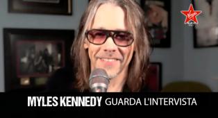Myles Kennedy: guarda l'intervista in occasione dell'uscita di The Ides Of March