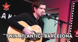 Twin Atlantic: guarda l'esibizione di Barcelona acustica sul palco di Virgin Radio