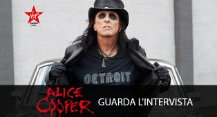 Alice Cooper: guarda l'intervista al nostro nuovo Rock Ambassador
