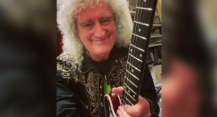 """Coronavirus, Brian May insegna a suonare l'assolo di We Will Rock You: """"Quando l'ho composto volevo infrangere tutte le regole"""""""