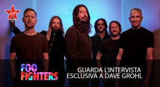 Foo Fighters: guarda l'intervista esclusiva a Dave Grohl