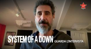 System Of A Down: guarda l'intervista esclusiva a Serj Tankian