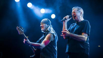 Deep Purple: le foto più belle del concerto di Roma