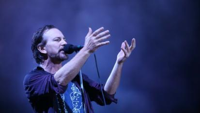 Le foto più belle del concerto dei Pearl Jam a Belo Horizonte in Brasile