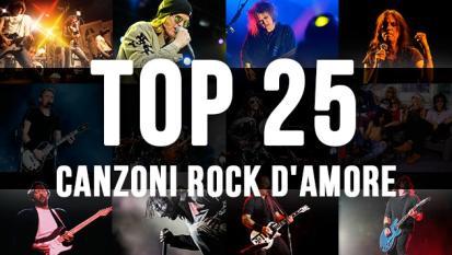 Canzoni rock d'amore - La top 25 di Virgin Radio