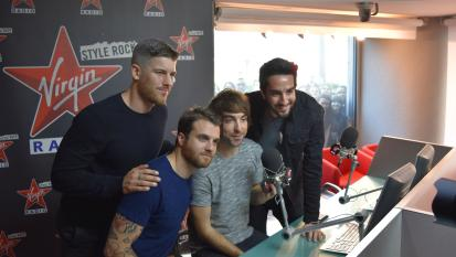 Andrea Rock intervista gli All Time Low a Virgin Radio