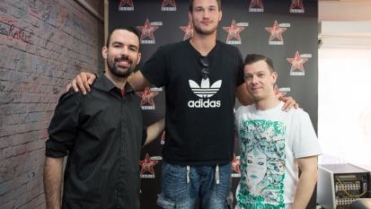 Danilo Gallinari ospite a Virgin Generation. Guarda le prime foto