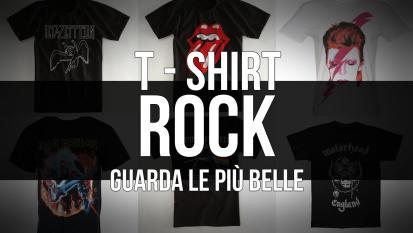 T-shirt rock: la gallery con le magliette più belle