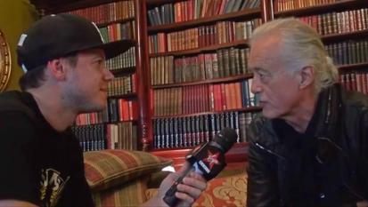 Jimmy Page @ Virgin Radio. Guarda L'intervista con Andrea Rock (seconda parte)
