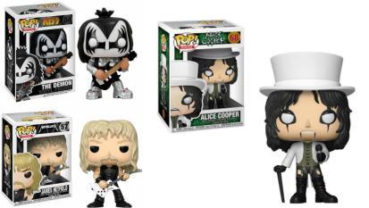 Alice Cooper, Metallica, Mötley Crüe e altre rockstar omaggiate nella nuova collezione Funko-Pop! Guarda la gallery