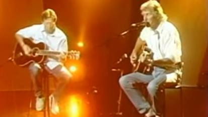 Roger Waters & Eric Clapton - Wish You Were Here