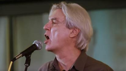 David Byrne - Heroes (live in NYC)