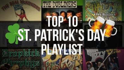 Top 10: le dieci canzoni più belle per festeggiare San Patrizio! Scopri la playlist