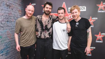 Biffy Clyro: guarda le foto dell'intervista a Virgin radio con Andrea Rock