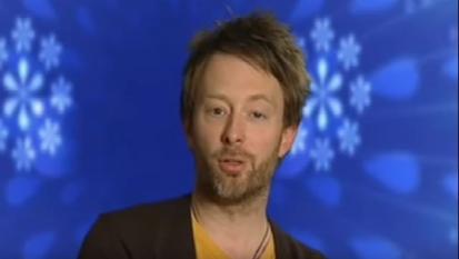 La folle risata di Thom Yorke dei Radiohead!