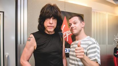Marky Ramone ospite a Virgin Radio. L'intervista con Andrea Rock