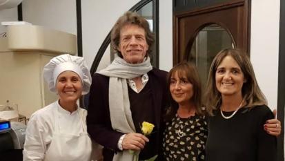 Rolling Stones: Mick Jagger è a Como per girare un film! Fotografato in città. Guarda le immagini
