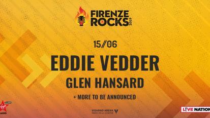 Firenze Rocks 2019: UFFICIALE Eddie Vedder è l'headliner del 15 giugno! Tutte le info e biglietti