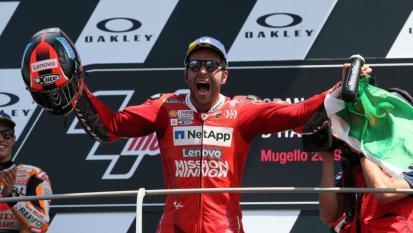 MotoGP: Danilo Petrucci ospite a Revolver con Ringo dopo la vittoria al GP d'Italia al Mugello. Ascolta l'intervista